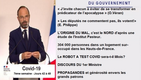 semaine 7 - Discours - Propagande - Masques - Isolement - 1er mai